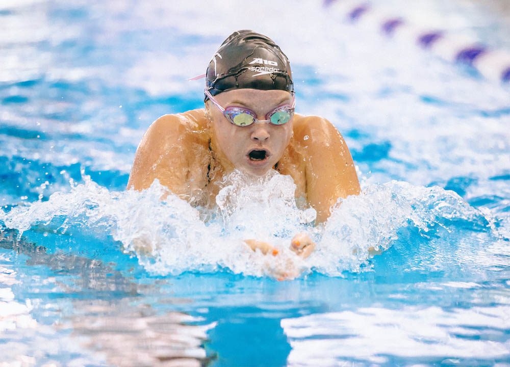 Swimming World March 2021 - How They Train with University of Richmond Swimmer Maggie Purcell
