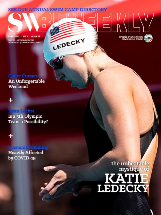 SW Biweekly - The Unbeatable Mystique of Katie Ledecky - Cover