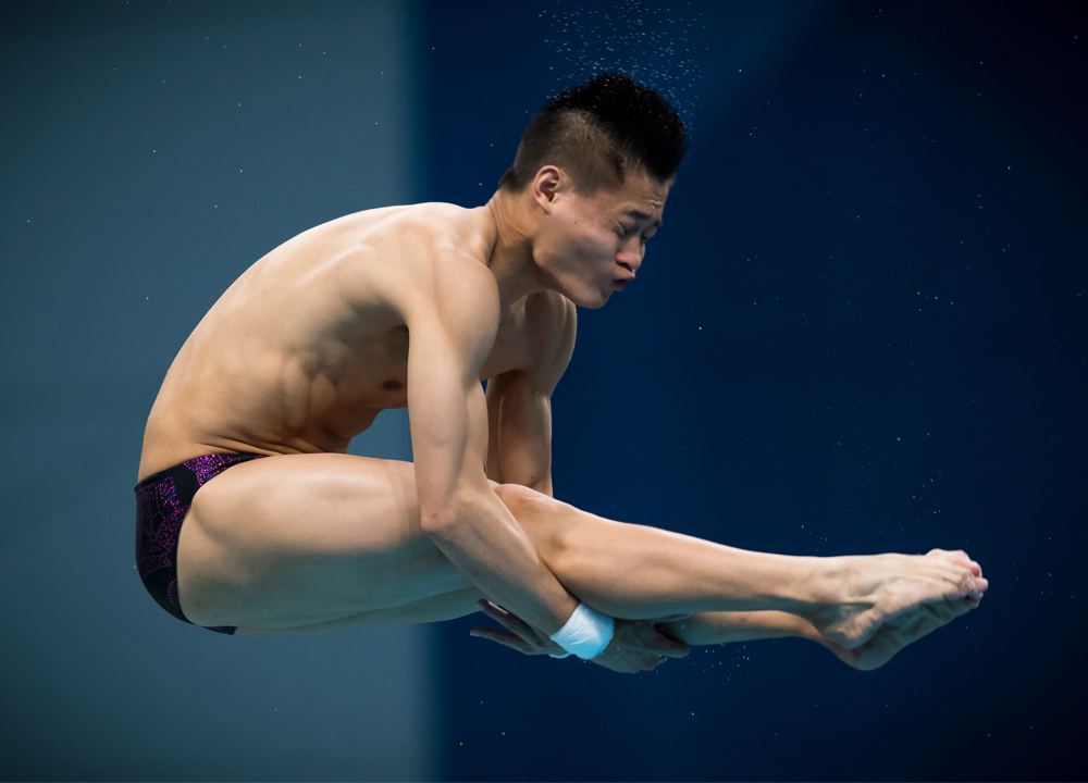 Swimming World April 2021 - Olympic Diving Preview - Yang Jian by Giorgio Perottino