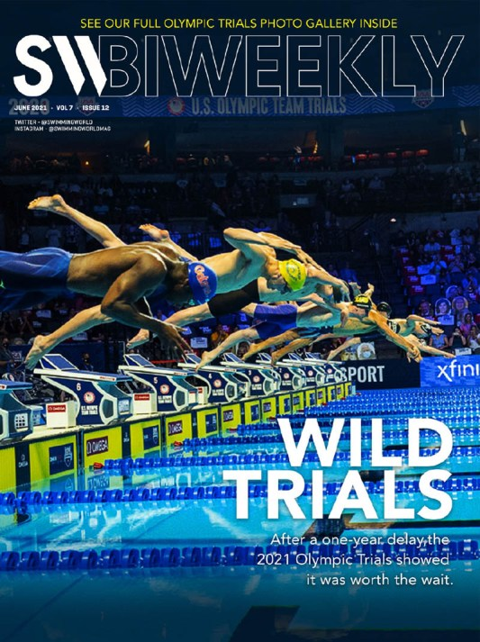 SW Biweekly - Wild Trials: After A One-Year Delay, The 2021 Olympic Trials Showed It Was Worth The Wait - Cover