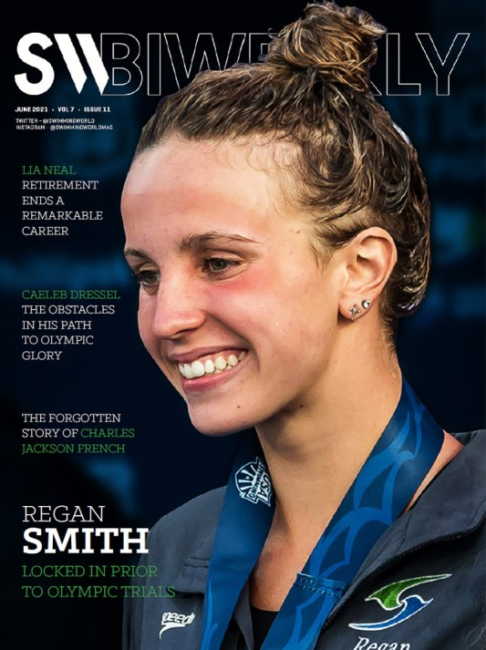 SW Biweekly - Regan Smith: Locked In Prior To Olympic Trials - Cover