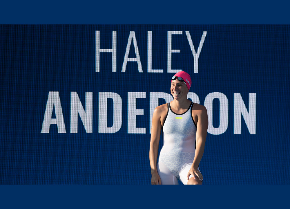 Swimming World June 2021 - How They Train - Haley Anderson - By Michael J. Stott
