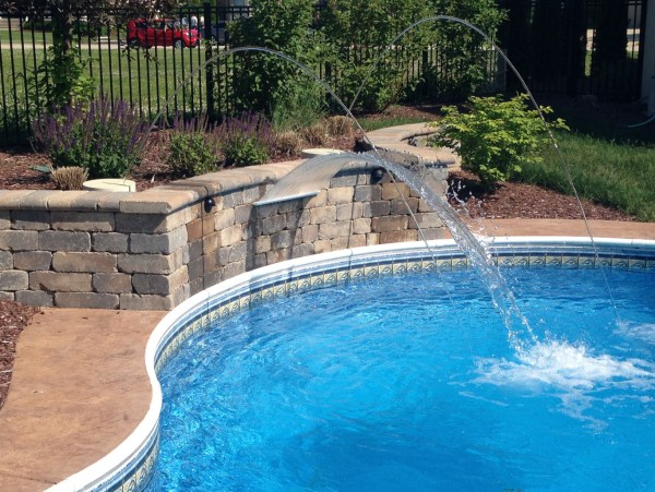 Swimming Pool Waterfalls - Water Features