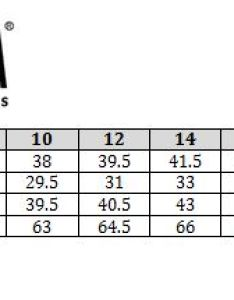 Christina size chart also swimstyle fit guide charts by brand rh