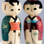 Kokeshi Salt & Pepper Shakers