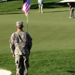 Cadet from Missouri ROTC were flag bearers throughout tournament