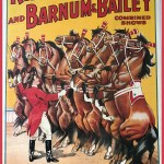 Capt Barry's Horses on a Ringling Bros. and Barnum & Bailey circus poster