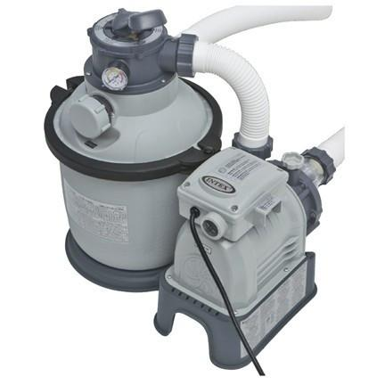 Intex Krystal Clear Filter Pump Pack 0.5hp 6m3 - Swindon Pool Hot Tub & Spa Chemicals And Accessories