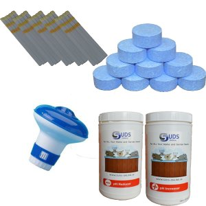 Pool Starter Kit Large - Multi Functional Chlorine Tablets
