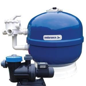 1hp Pump 24in Filter Endurance Filter Pump Pack - Swindon Pool Hot Tub & Spa Chemicals And Accessories