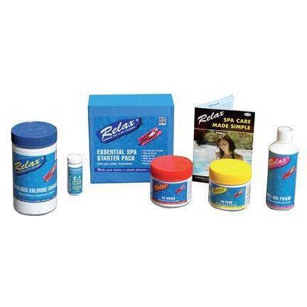 Essential Spa Starter Pack - Swindon Pool Hot Tub & Spa Chemicals And Accessories
