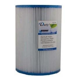 Darlly SC741 - 25cm Hot Tub Filter Cartridge - Swindon Pool Hot Tub & Spa Chemicals And Accessories