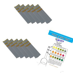 3 in 1 - Chlorine Test Strips for Swimming Pools Spas & Hot Tubs - Free Chlorine