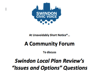 Community forum 9th December