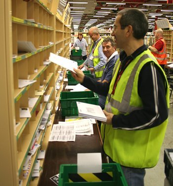 Swindon Dorcan Sorting Office Rated Best In Country