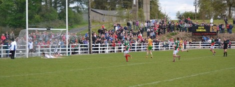 Donegal Penalty near end of game