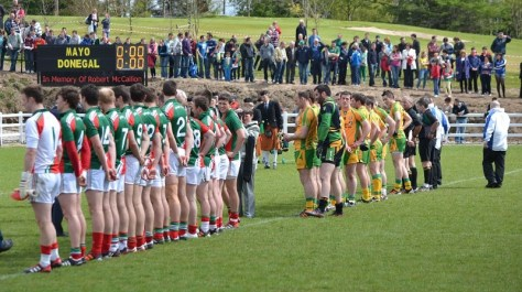 Mayo Donegal Line up