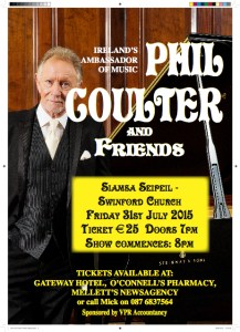 Phil Coulter plays Siamsa Seipeil