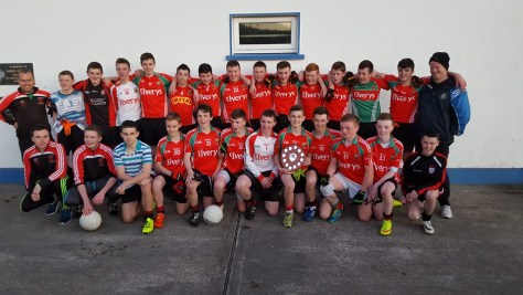 Swinford U15 Winners