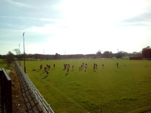 Swinford GAA warm up