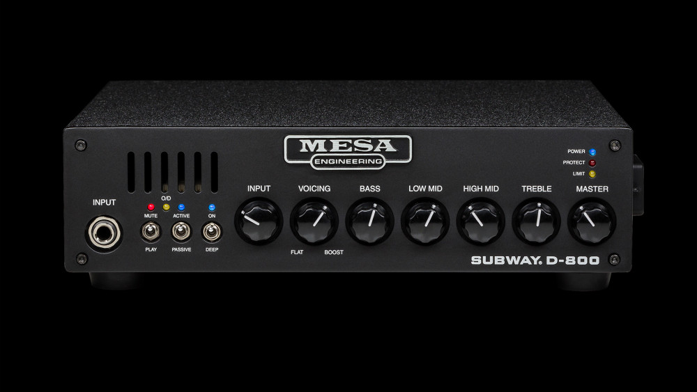 Mesa Boogie Subway D800 Bass Head