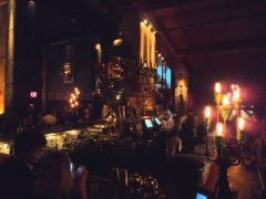 The Edison bar.. Steampunk heaven