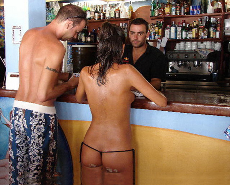 Naked bar wife Amateur Wife