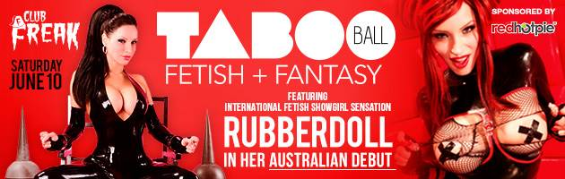 Club Freak's Taboo Ball Perth