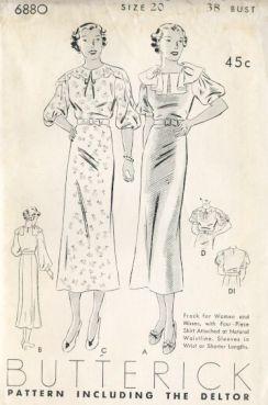 butterick1930s