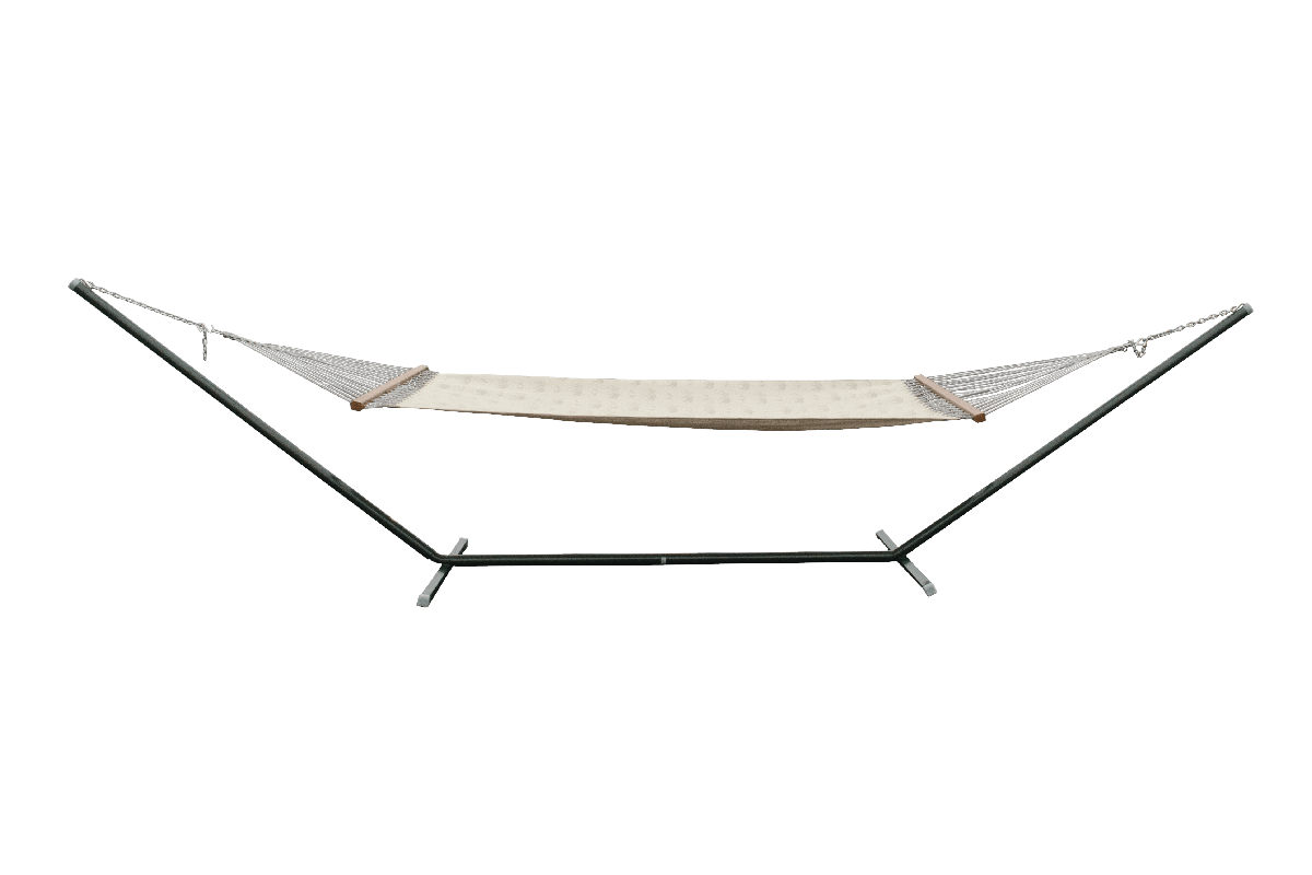 hammock chair stand canadian tire covers in cape town free standing swing beam kingdom