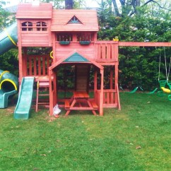 Costco Kitchen Play Set Wire Rack Swing Installation Nj Playset Installer Cedar Summit