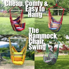 Hammock Chair Swings Pink Egg 50 Outdoor Swing How To Make One Cheap Comfy Easy Install The