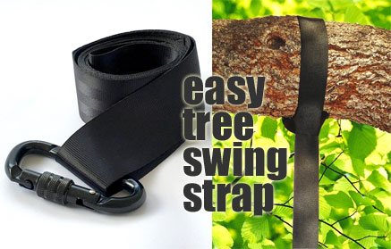 tree hanging hammock chair swivel rocking outdoor 50 swing how to make one strap