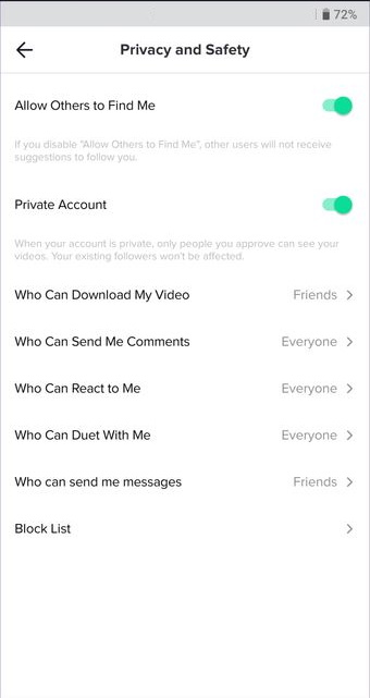 How To Disable Sharing On Your Tiktok Videos