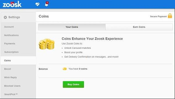 Premium account hack zoosk search results