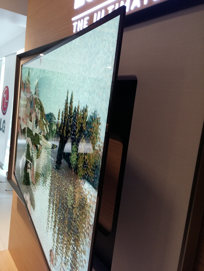LG Gallery OLED TV Slim