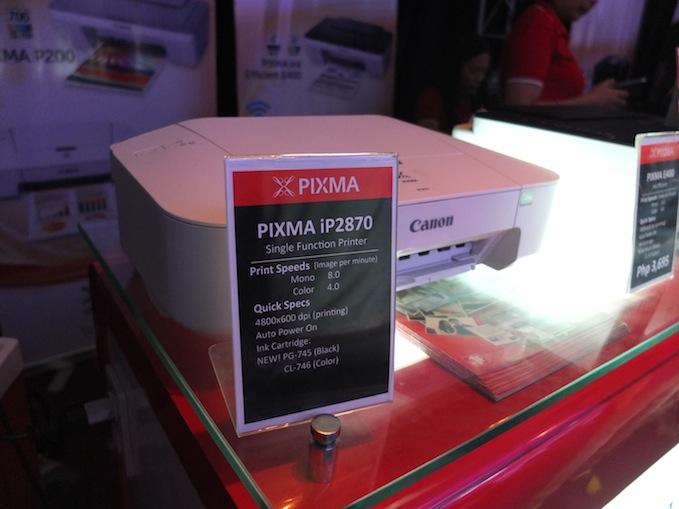 Canon Pixma Printer Launch 02