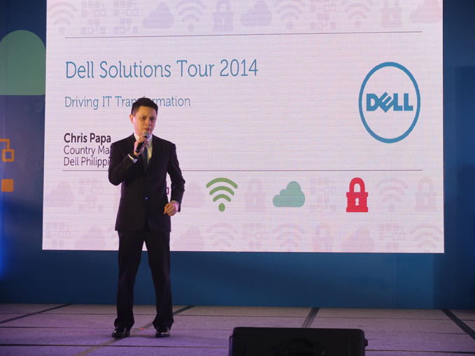 Dell Solutions Tour 2014 Manila Leg, Dell Philippines Country Manager Chris Papa