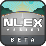 NLEX Assist logo
