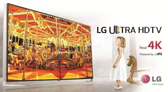 LG Ultra HD TV Line Up 2014