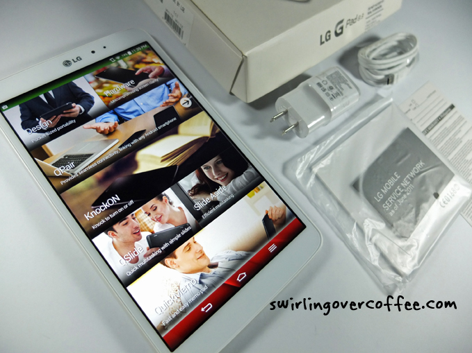 LG G Pad 8.3 Review Unboxing