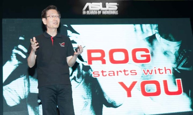 ASUS Chairman Jonney Shih highlights ROG's design spirit_Power & Beauty