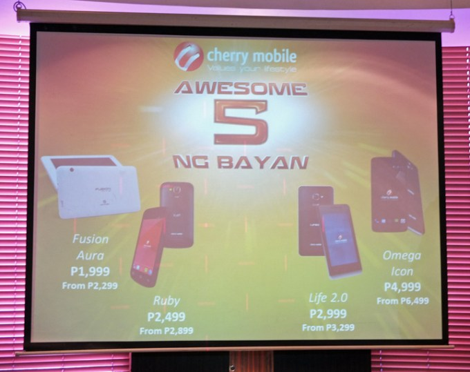 Cherry Mobile Awesome ng Bayan