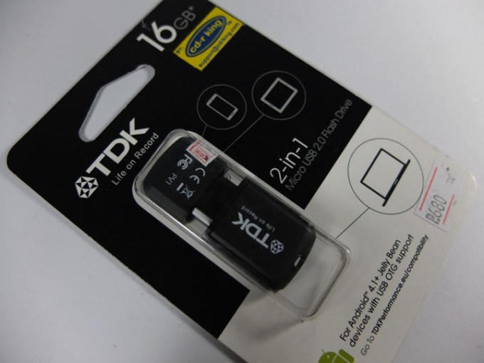 TDK Flash Drive Review Box