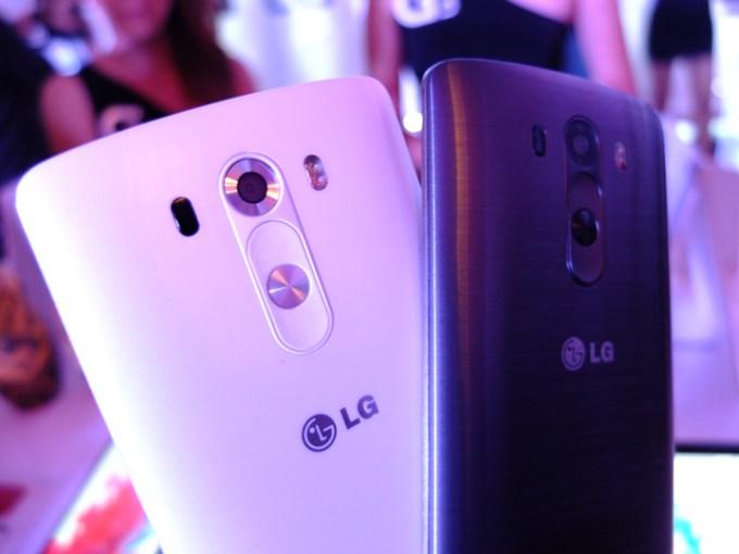 LG G3 Black White