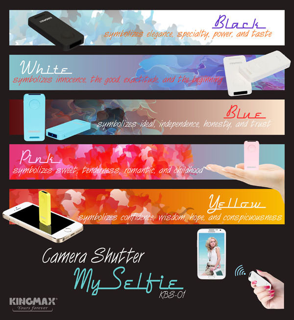 KINGMAX-KBS01-2 MySelfie Camera Shutter