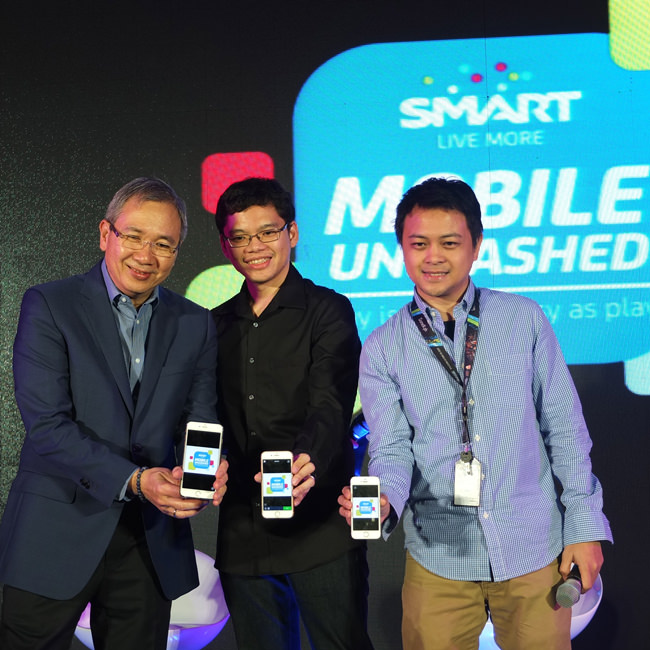 Smart, Ramon Isberto, Pay-With-Mobile