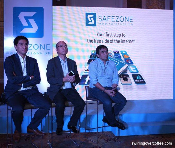SafeZone, PLDT Voyager, Free Facebook