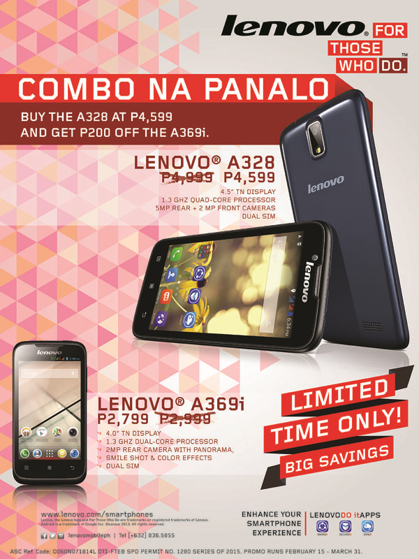 Lenovo Power Bundle Promo 2