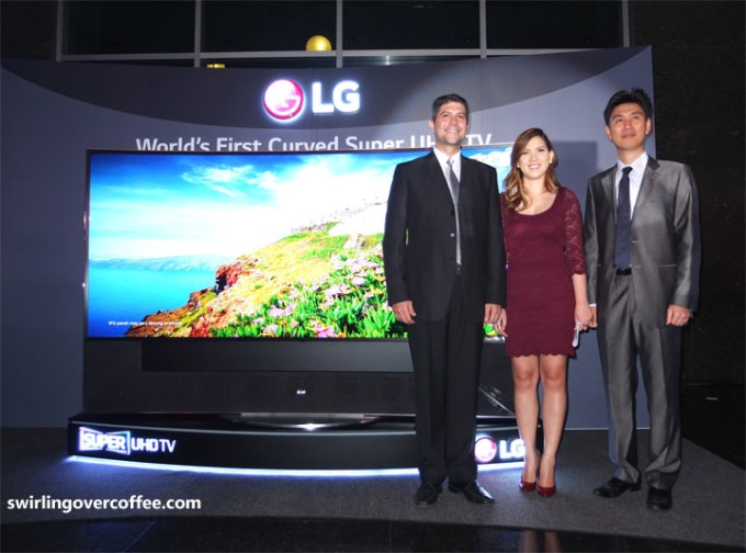 LG 105 inch curved ultra hd tv